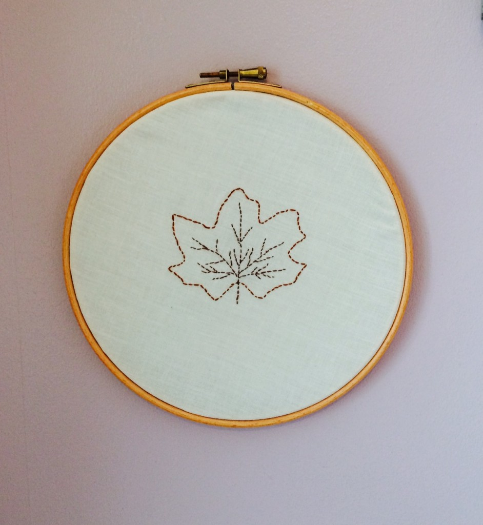 Autumn Leaf Stitchery