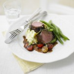 Herby Lamb with Woodland Dressing
