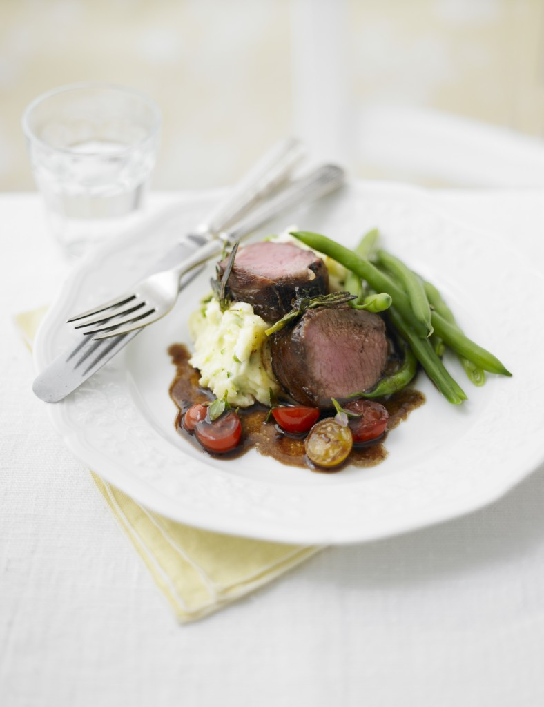 20 Herby Lamb with Woodland Dressing HR