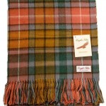 We Love… Antique Buchanan Tartan Blankets