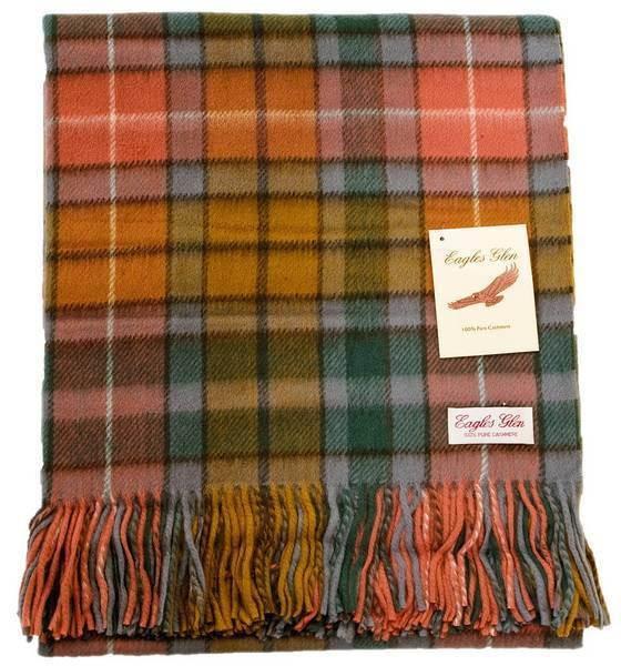 Antique Buchanan Tartan Blanket - Tartan Blanket Co
