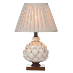 Eye-catching Cream Artichoke Style Table Lamp - Haysom Interiors