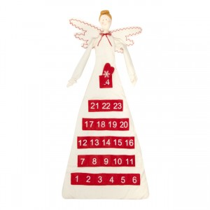 Fabric Angel Christmas Advent Calendar - Debenhams