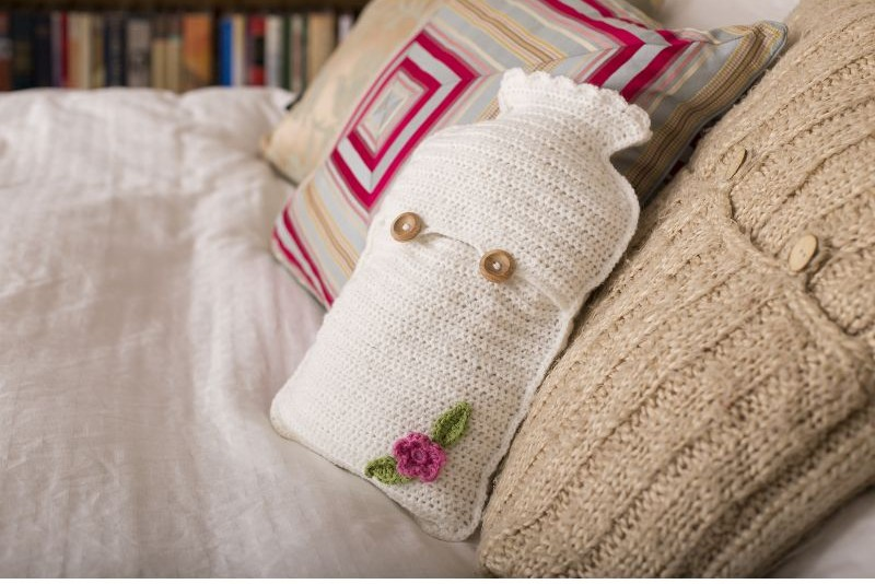 Get Crafty Crochet Hot Water Bottle Kit - Hobbycraft