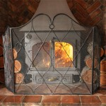 We Love… Iron Heart Scroll Fire Screen