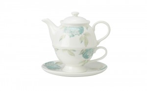 Hydrangea Bone China Tea-For-One Set - Laura Ashley