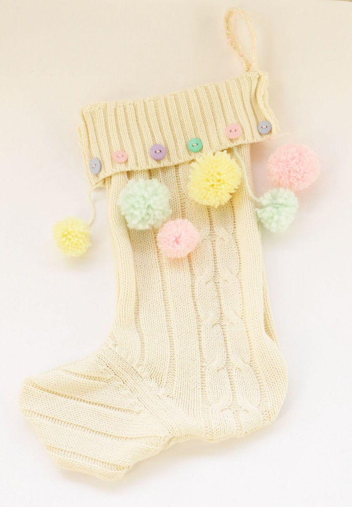 No-Knit Christmas Stocking Tutorial