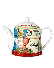 Vintage Kelloggs Teapot - The Brilliant Gift Shop