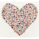 Love Heart Cross Stitch Kit - I Love Cross Stitch