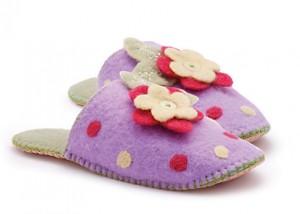 Make Your Own Felt Slippers Kit - John Lewis