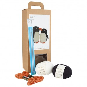 Monty and Mabel Knitted Penguin Kit - John Lewis