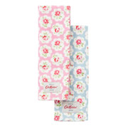Set of 2 Provence Rose Tea Towels - Cath Kidston