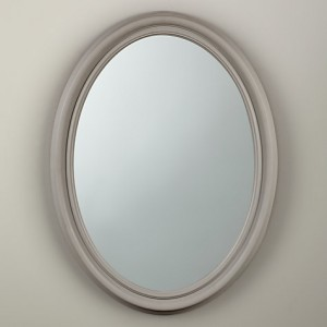 Croft Collection Oval Mirror - John Lewis