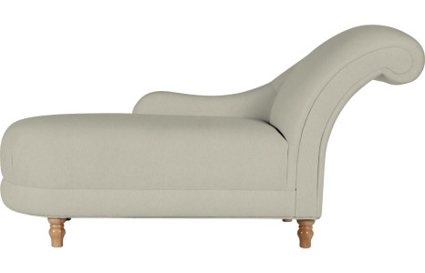 hereford upholstered petite chaise - laura ashley