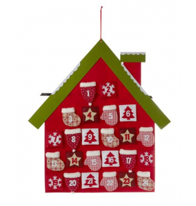 Linea Advent House Felt Calendar - House of Fraser