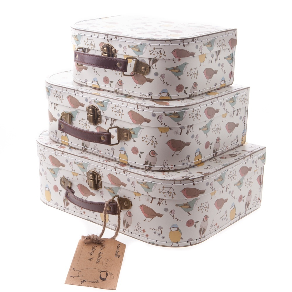 sass bell set of 3 suitcases - Mollie and Fred