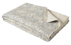 Sheherezade Reversible Cotton Quilt - OKA Direct
