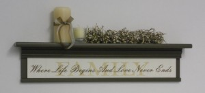 Family Sign With Quote - Nelsons Gifts