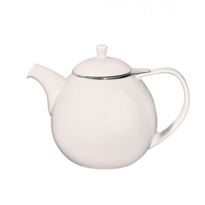 White Curve Teapot - Whittard of Chelsea