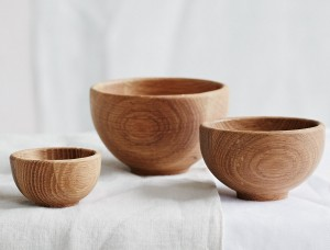 wooden nesting bowls - the white company