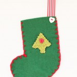 Make It! Felt Tree Stocking Decorations