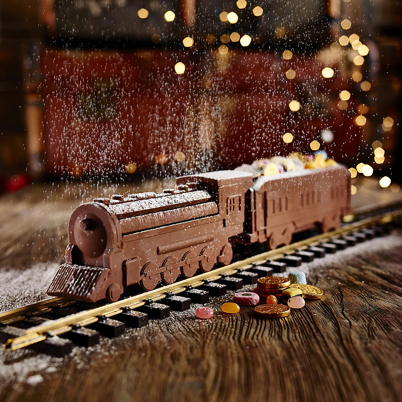 chocolate train mould lakeland