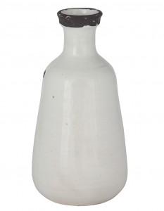cream terracotta vase - barker and stonehouse