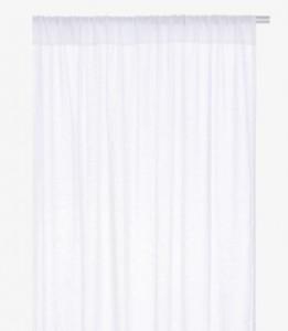 kita white pair of linen curtains - habitat