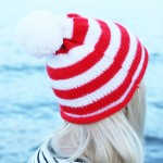 Christmas Beanie Hat Knitting Pattern