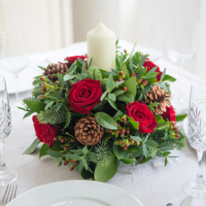 mulled wine arrangement - appleyard flowers