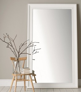 portland wide full length mirror - the white company