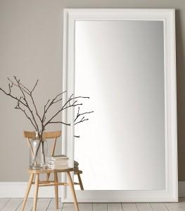 portland wide full length mirror - the white company