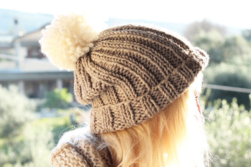 Knitted Bobble Hat Pattern Make It Shabby