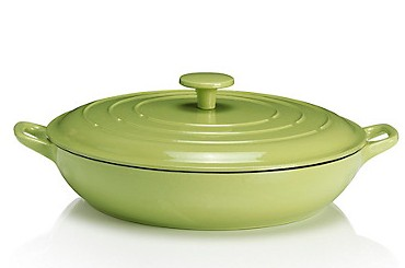 cast iron shallow casserole marks and spencer