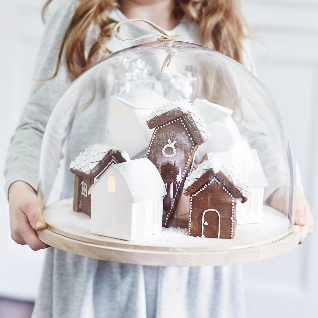 cloche and plate set the white company