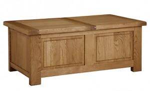 Pendleton trunk coffee table - john lewis