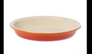 le creuset stoneware 28cm oval pie dish