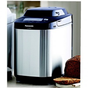 panasonic stainless steel bread maker - lakeland