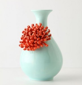 pretty pansy vase - anthropologie