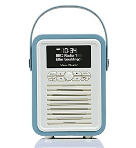 view quest retro mini radio - the brilliant gift shop