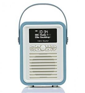 view quest retro mini radio - the brilliant gift shop