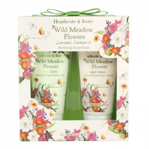 Wild Meadow Flowers Bathing Essentials