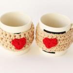 Crochet Valentine Mug Cosy