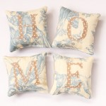 Make a Set of Mini 'HOME' Pillows