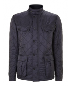 barbour international quilted ariel polar jacket