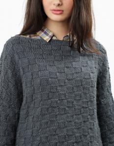 big bang sweater - wool and the gang