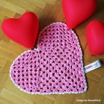 Heart Rug Crochet Pattern