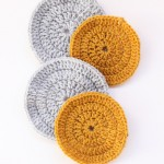 Make It: Crochet a Coaster Set