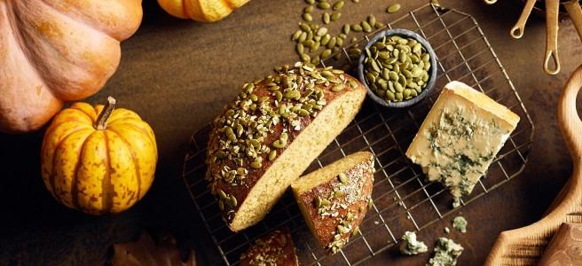 Colston Bassett - Stilton & Pumpkin Bread 1